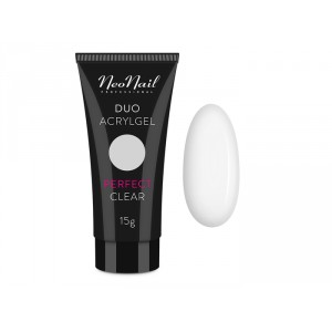 Акрил гель DUO NeoNail Perfect Clear 15 гр.